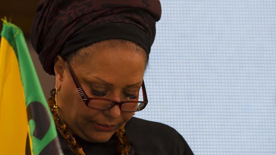 Piedad Córdoba, líder del movimiento político de izquierdas Marcha Patriótica y organizadora de dicha cumbre/ N. V.