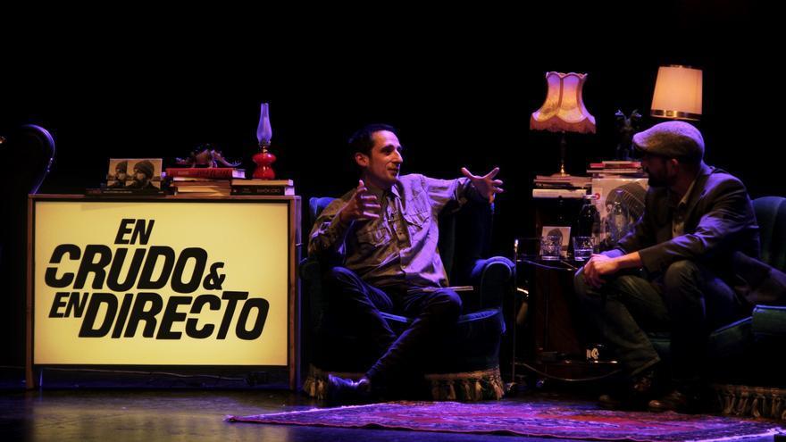 Josele Santiago presentando Transilvania con Javier Gallego