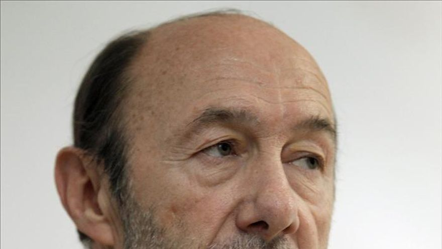 Rubalcaba afirma que Europa tiene que entender que hay razones para las expropiaciones