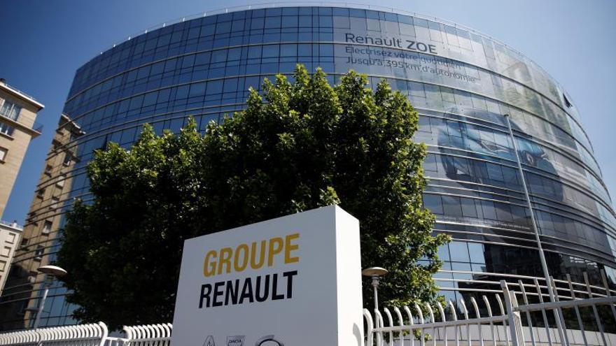 Sede central del Grupo Renault en Boulogne Billancourt, cerca de Paris.