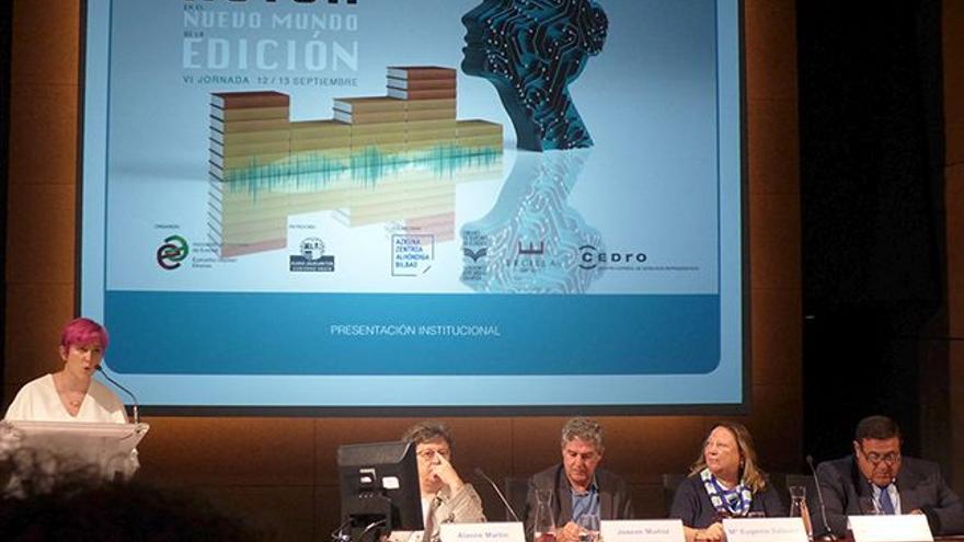 Presentación institucional de la Jornada de la AEE/EIE. | JESÚS ORTIZ