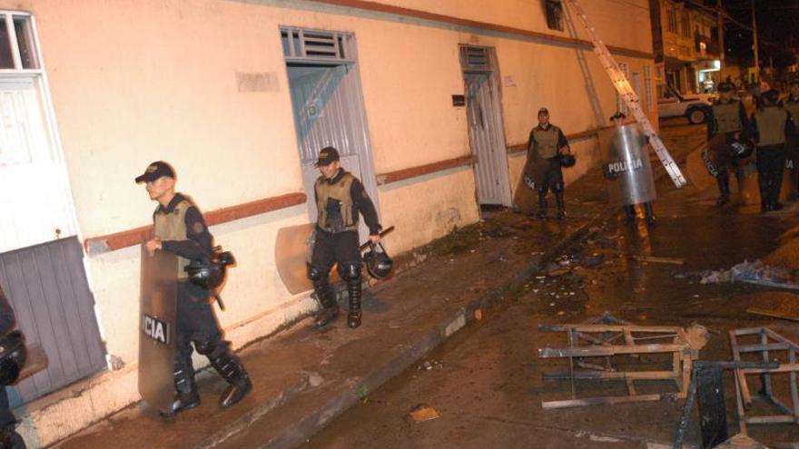 Al menos nueve muertos y 25 heridos en un incendio en una cárcel colombiana