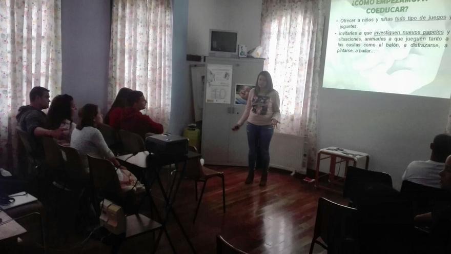 Charla del proyecto 'Dar tiempo, dar vida' realizada en Mazo