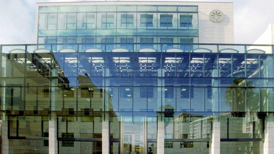 Sede central de Bankia en la calle Triana.