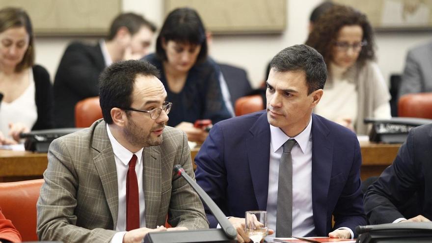"""Hernando (PSOE) niega """"preocupación"""" en la Ejecutiva sobre la posible candidatura de Chacón a las primarias"""