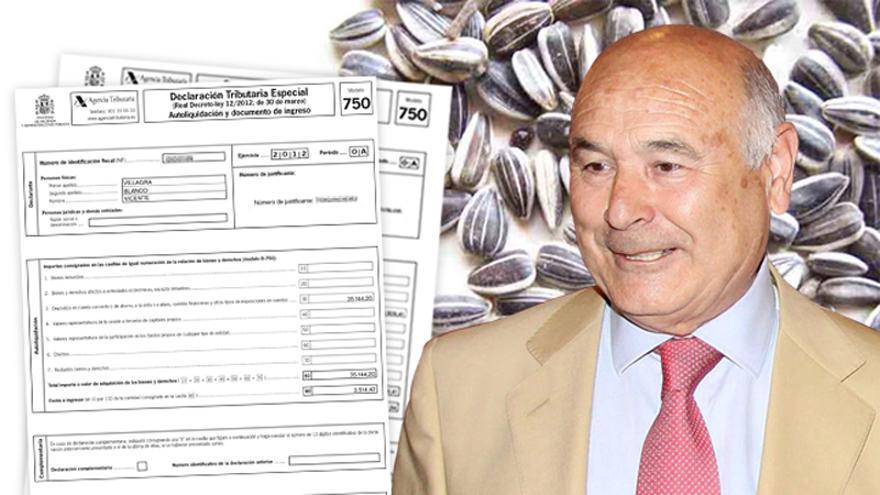 Vicente Villagra, presidente de Pipas Facundo, se acogió a la amnistía fiscal