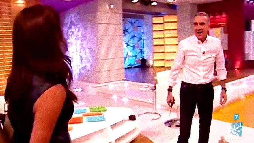 Juan y Medio y Eva Ruiz en La tarde (Canal Sur)