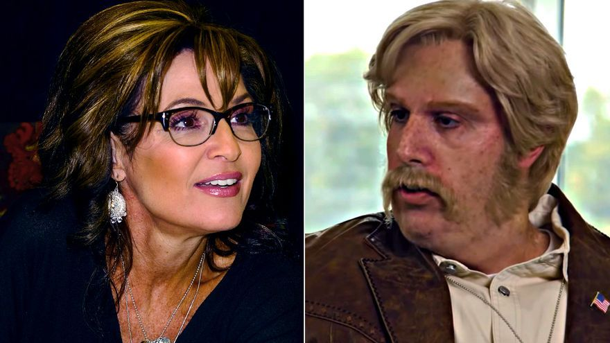 Sarah Palin y Sacha Baron Cohen