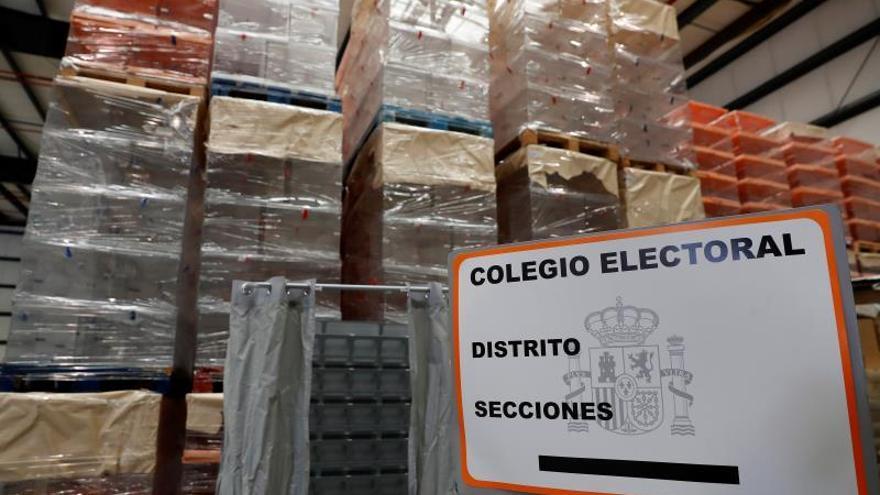 Empieza el envío de más de 42 millones de papeletas a locales electorales
