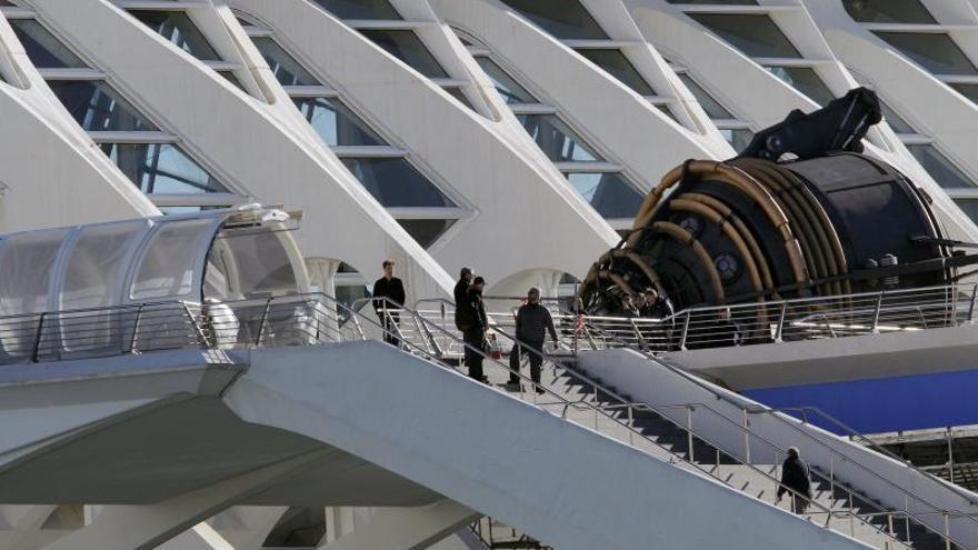 El secretismo protagoniza el desembarco de George Clooney en Valencia