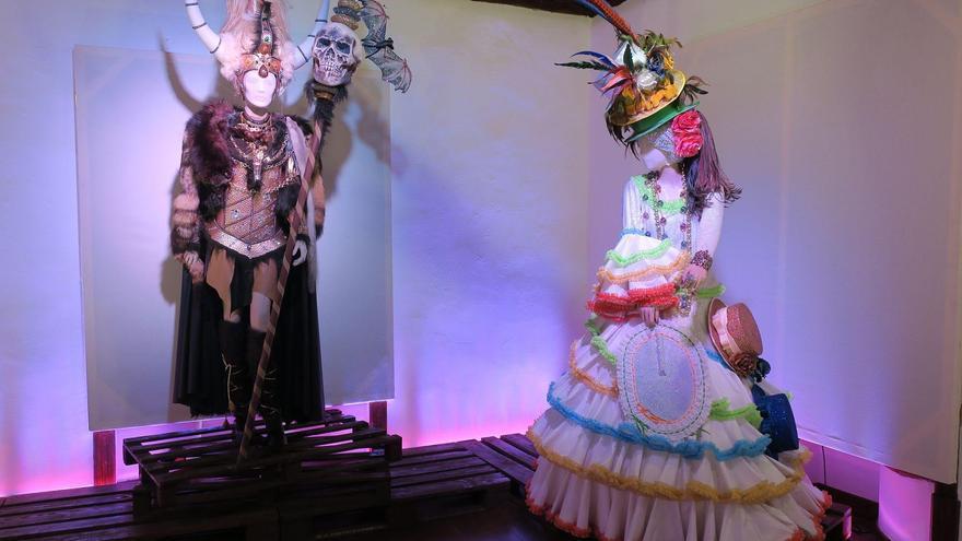 Los trajes de Hortensio Valles destacan en el Carnaval de La Palma.