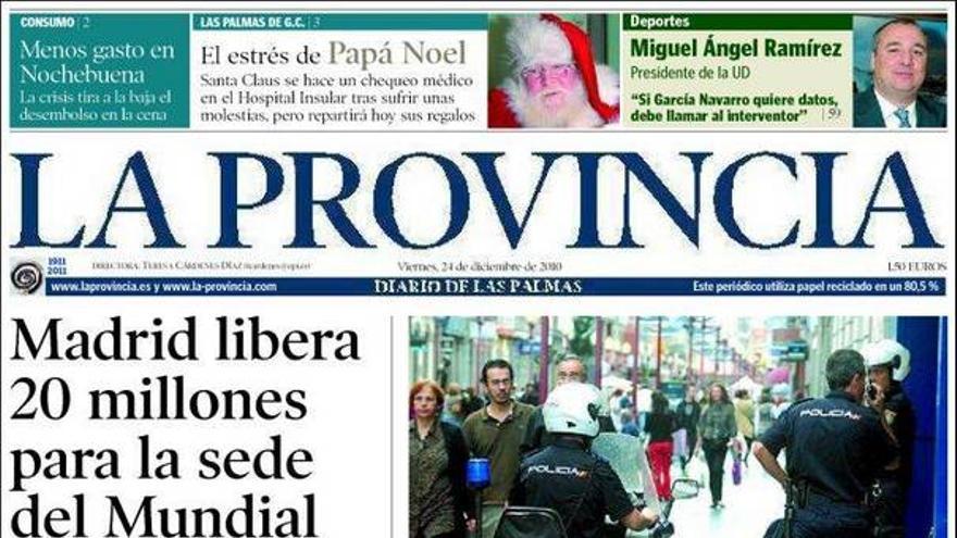 De las portadas del día (24/12/2010) #4