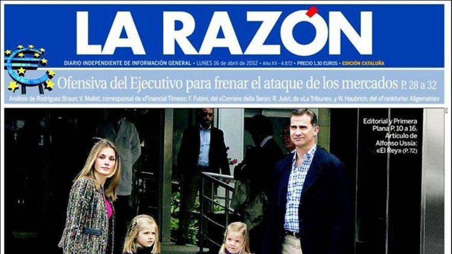 De las portadas del día (16/04/2012) #9