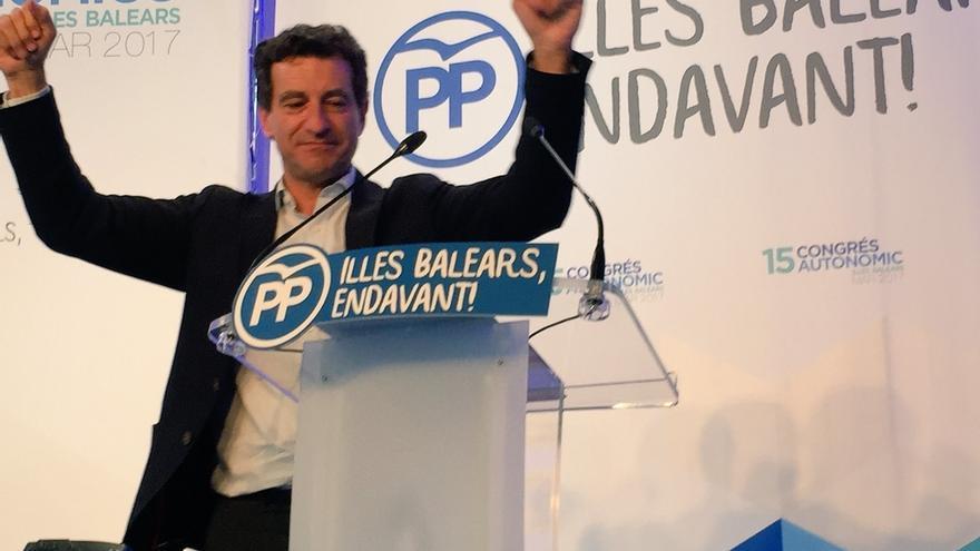 Gabriel Company será el nuevo presidente del PP de Baleares, con el 72% de los votos de los afiliados