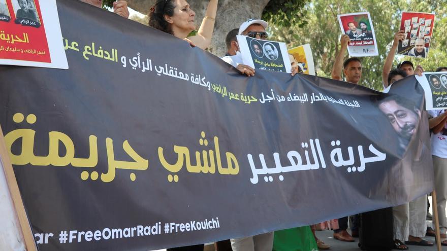 Juicio al periodista marroquí Omar Radi, a puerta cerrada en su recta final