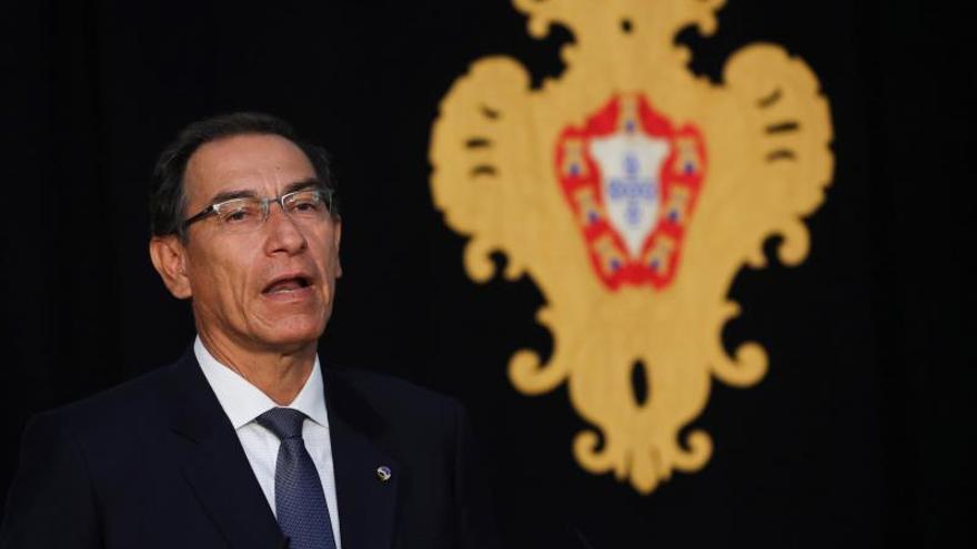 """El presidente de Perú espera dejar una """"democracia más fuerte"""" en su país"""