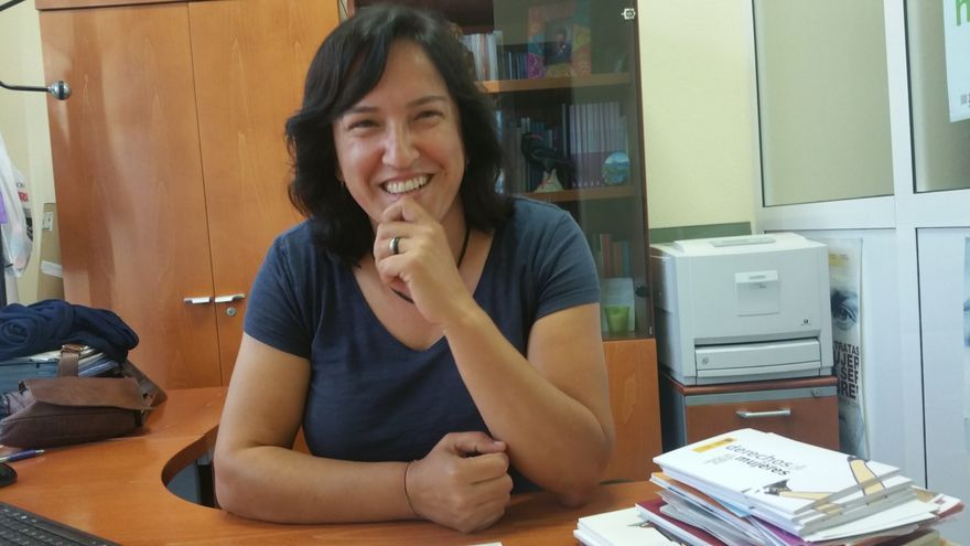 Alicia Pérez Bravo es jefa de la Unidad contra la Violencia sobre la Mujer. Foto: LUZ RODRÍGUEZ.