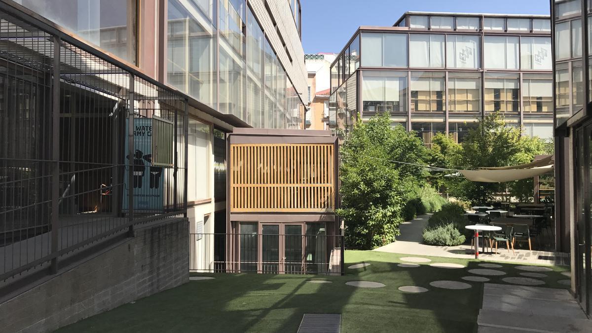 Patio del COAM (Colegio Oficial de Arquitectos de Madrid).