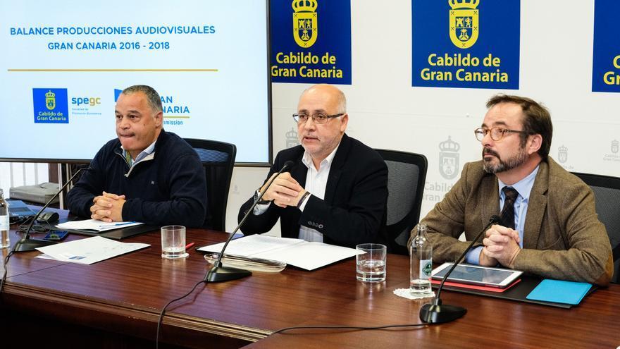 Las producciones audiovisuales generan 47 millones en tres años en Gran Canaria