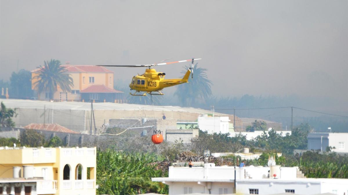 Incendio en La Palma.