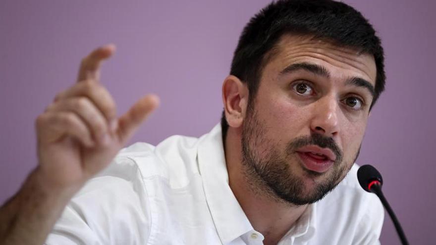 Espinar cree que saldrá reforzado de la polémica sobre la venta de su piso