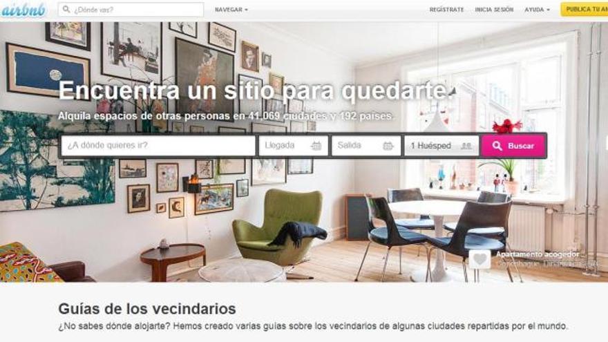 Las plataformas de alquiler online esgrimen los beneficios económicos locales de su actividad