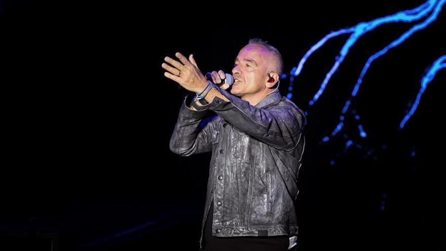 Eros Ramazzotti triunfa en su debut en el Festival de Cap Roig