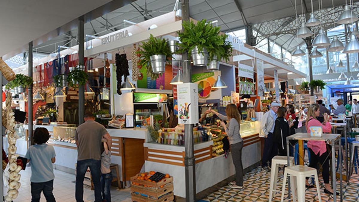 Imagen de archivo del interior del Mercado Victoria