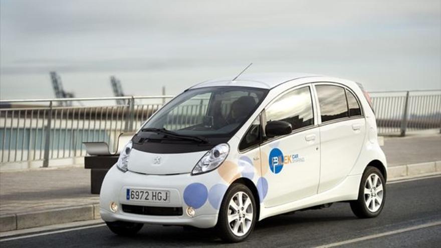 Imagen de un coche eléctrico.
