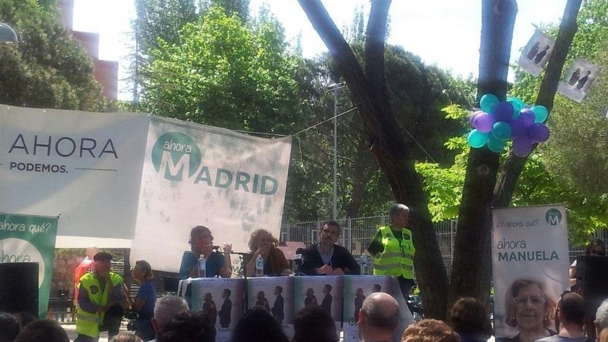 """Manuela Carmena: """"Aguirre tiene a su espalda que haya aflorado la corrupción como nunca antes había pasado"""""""