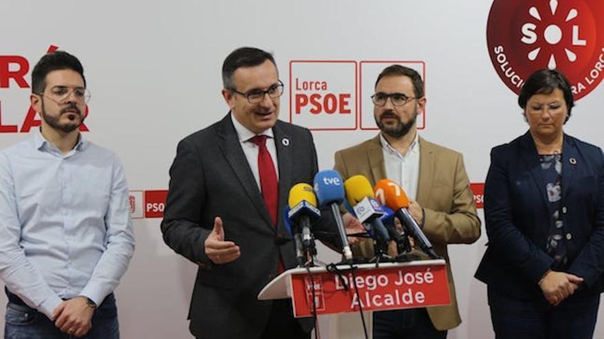 El líder de los socialistas murcianos, Diego Conesa