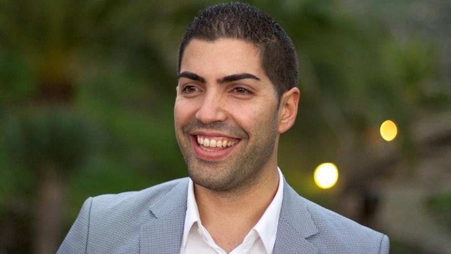 l candidato a la presidencia de la Agrupación Herreña Independiente (AHI), Pablo Rodríguez.