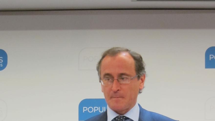 Alonso responde al PNV que su prioridad es el empleo, no los presos de ETA