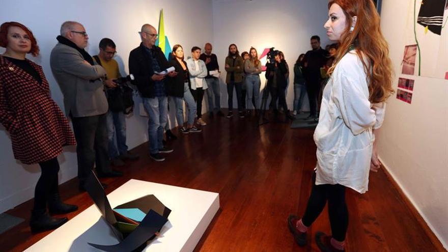 El Centro Atlántico de Arte Moderno (CAAM) presentó hoy a los medios de comunicación la tercera edición de la exposición Espacio CV. Creatividad y Visibilidad.
