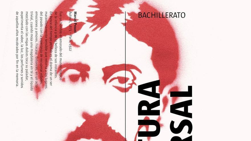 Libro de Literatura Universal de 1º de Bachillerato de la editorial Casals.