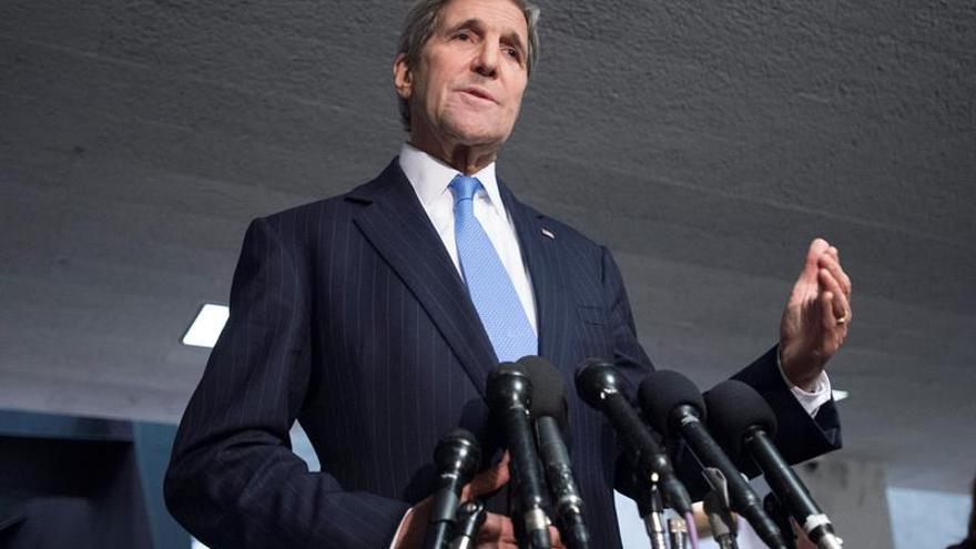 """Kerry afirma que el alto el fuego es la """"última oportunidad"""" para salvar una Siria unida"""