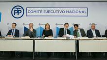 Mariano Rajoy preside la reunión del Comité Ejecutivo Nacional del Partido Popular tras las elecciones catalanas del 21D.