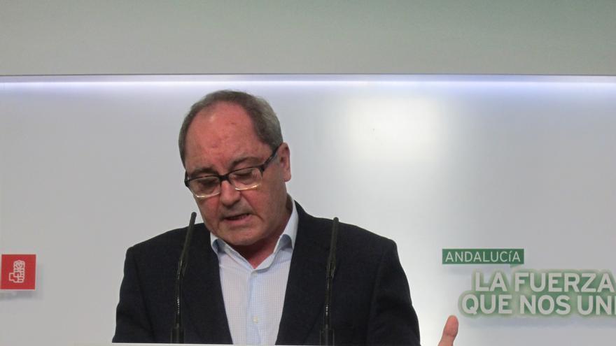 """PSOE-A ve """"cínico"""" que el PP pida que UGT comparezca en el Parlamento pero se niegue a ser investigado"""