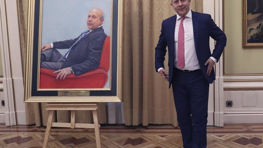 El retrato de Wert para el Ministerio de Educación costó 19.580 euros