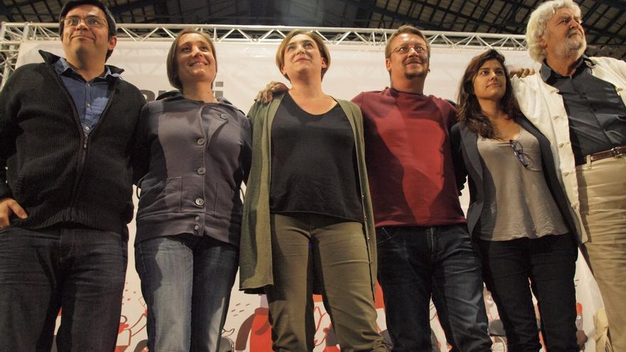 Colau cerrará la lista de En Comú Podem por Barcelona