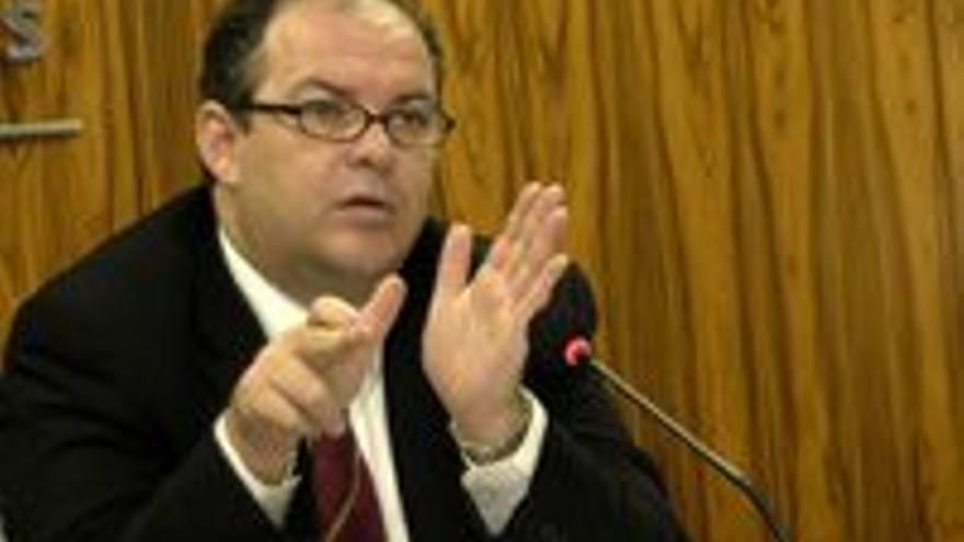 JAvier Sánchez-Simón, presidente de la Autoridad Portuaria de Las Palmas.