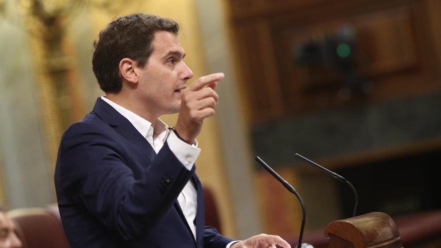 Rivera reitera la advertencia al Gobierno: sin compromiso de bajar el IRPF, no habrá techo de gasto