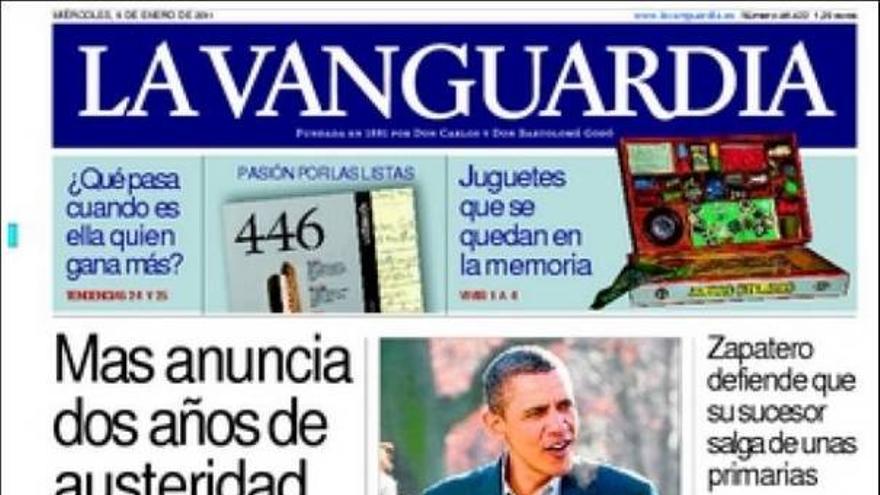 De las portadas del día (05/01/2011) #10