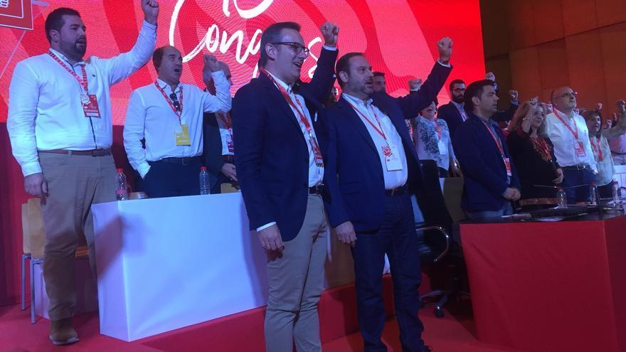 Diego Conesa en el XV Congreso del PSRM-PSOE