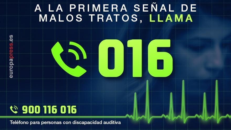 Andalucía, con 1.130, la segunda comunidad con mayor número de llamadas al 016 el pasado mes de enero
