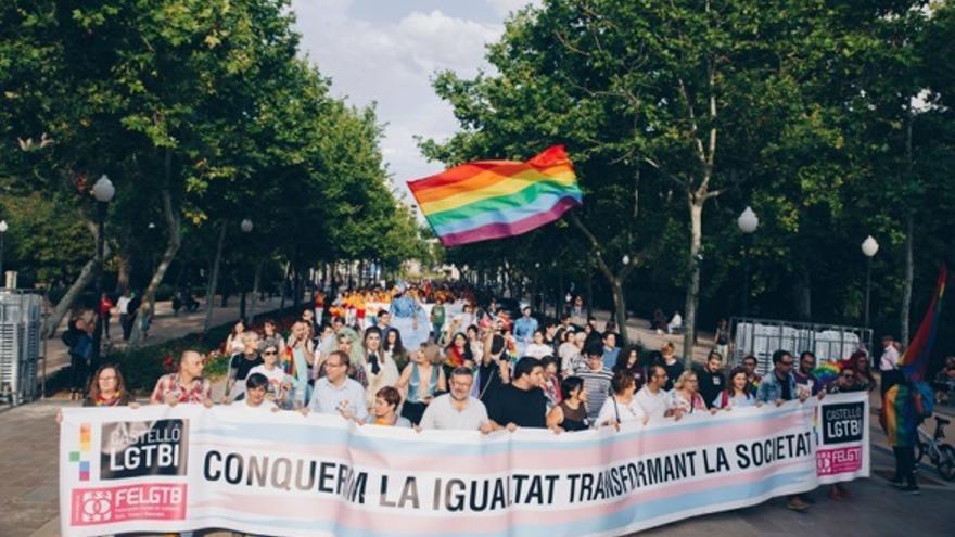 Las celebraciones del Orgullo LGTBI en Castellón