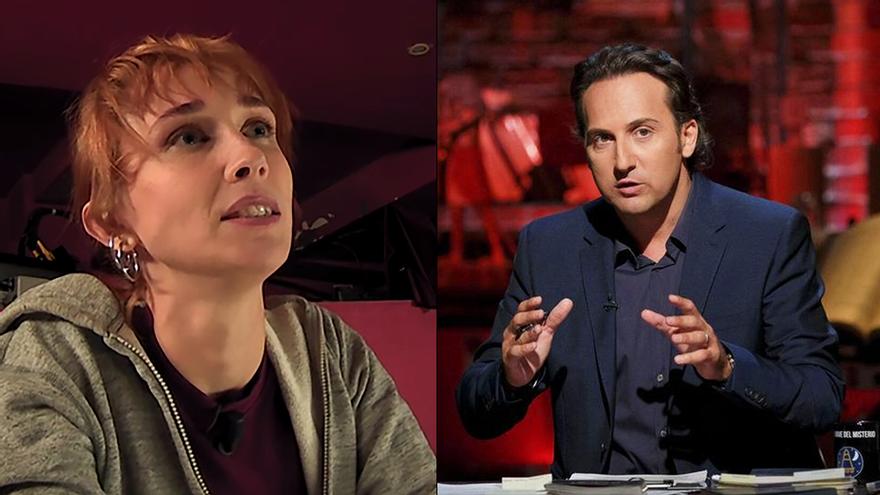 """Ingrid García-Jonsson habla en 'La Resistencia' de su trabajo en 'Cuarto Milenio': """"Hacía las reconstrucciones"""""""