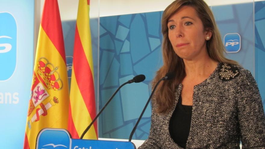 Alicia Sánchez-Camacho vaticina que CiU intentará fichar a los díscolos del PSC para debilitarlo