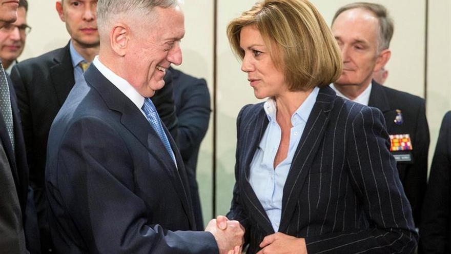Cospedal se reunirá en Washington con el secretario de Defensa de EEUU