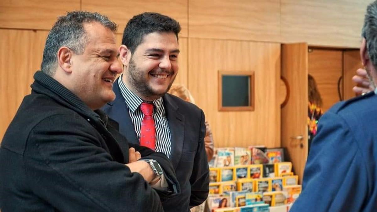 Leo Benjumea y José Alberto Díaz